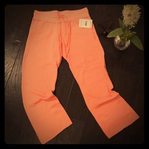 NWT Free People Coral Sweatpants 🏋🏼♀️🏷